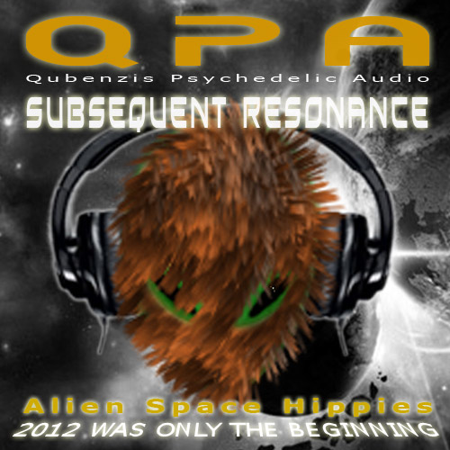 Subsequent Resonance Album Cover art - music by QPA